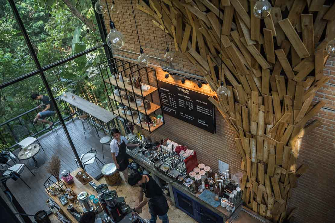 Cafe for digital nomads in Chiang Mai