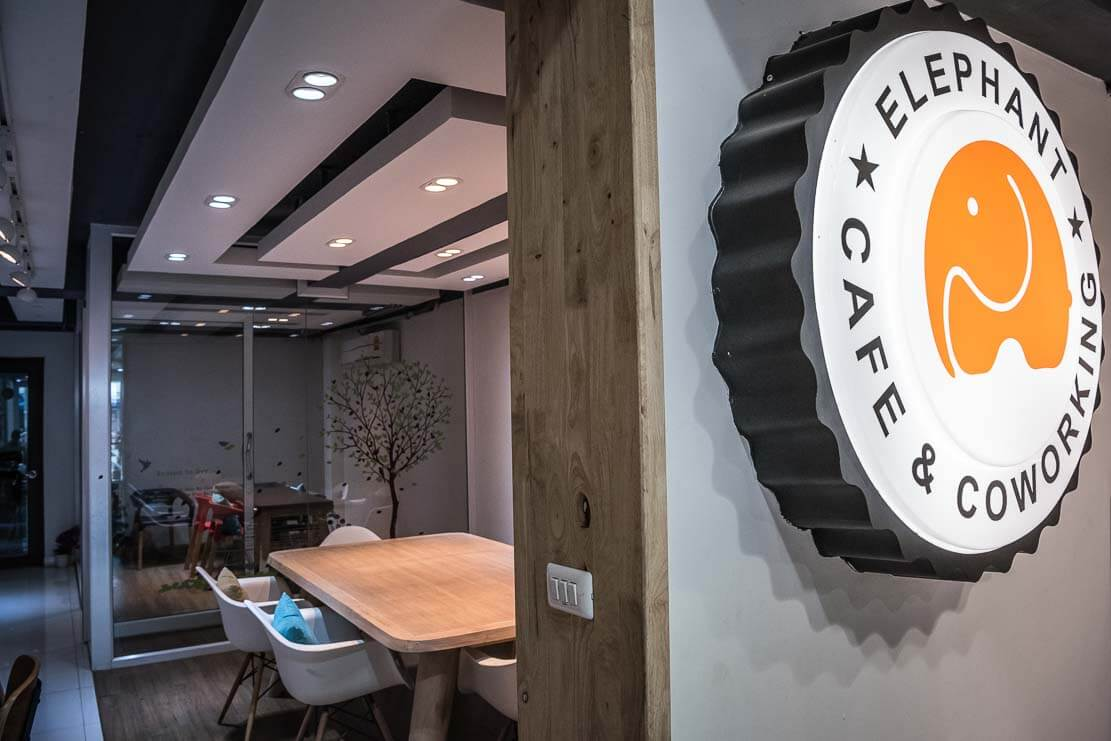 Co-working space in Chiang Mai