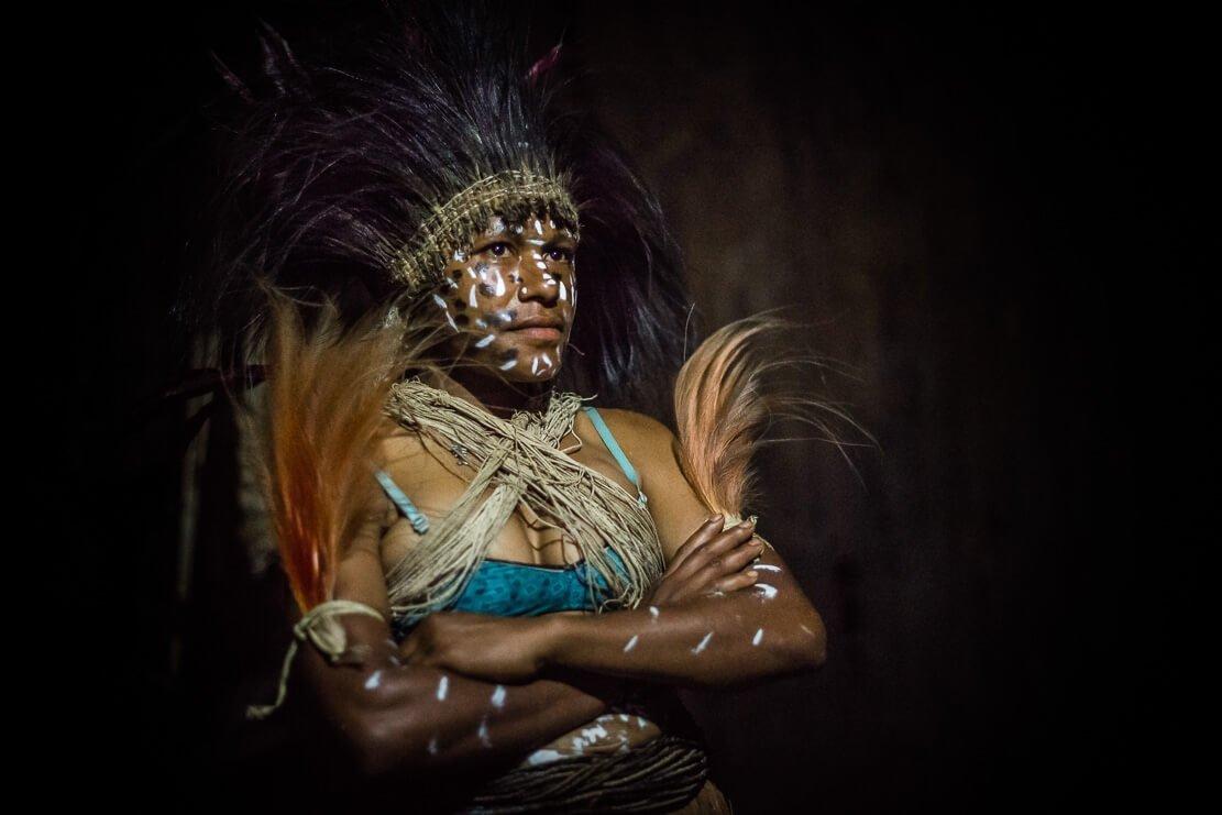 Papua New Guinea Kaluli tribe Bosavi