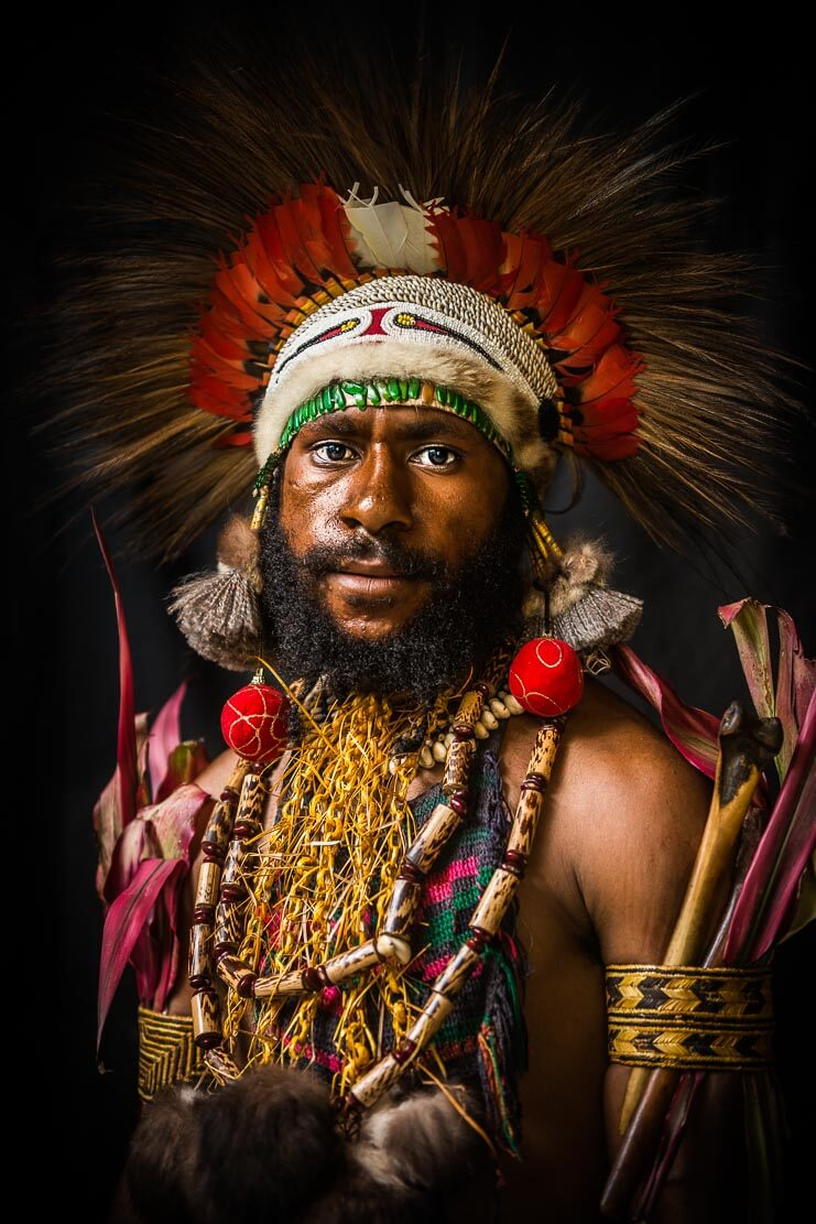 Papua New Guinea Eastern Highlands tribes