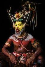 Papua New Guinea Huli tribe