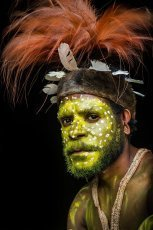 Papua New Guinea Foi tribe