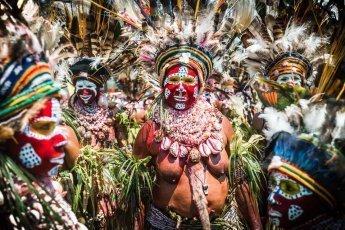 Papua New Guinea tribes Mt Hagen Western Highlands Jiwaka