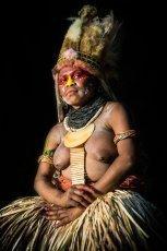 Papua New Guinea Enga tribes
