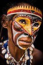 Papua New Guinea Maprik tribe Sepik