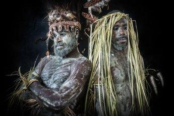 Papua New Guinea Sepik tribes