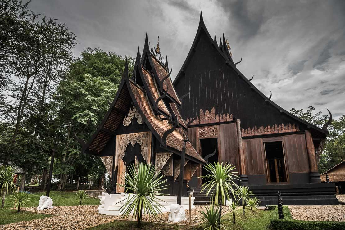 Baan Dam (Black House) in Chiang Rai in Thailand