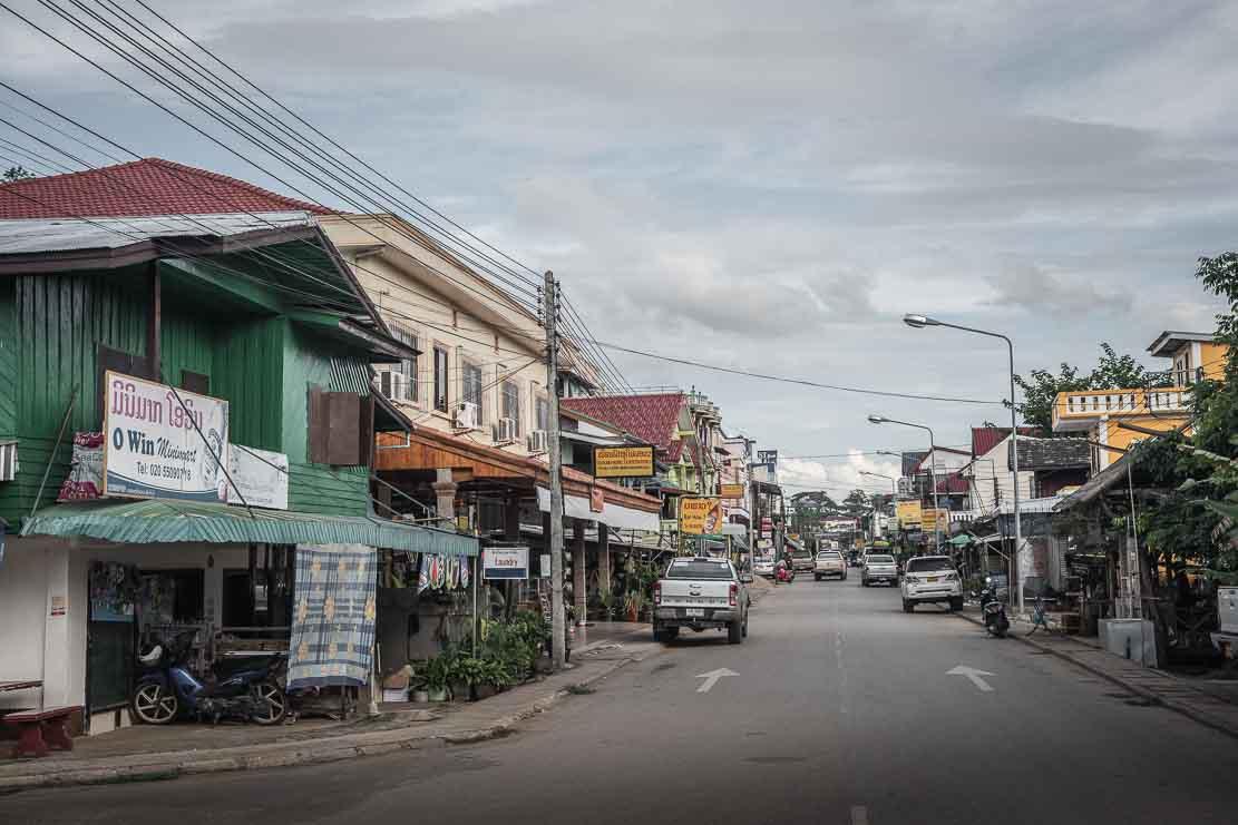Huay Xai town on Mekong