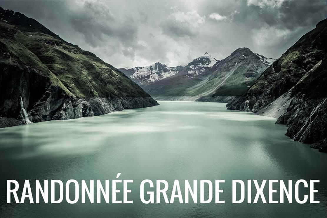 Randonnée du barrage de la Grande Dixence à la cabane des Dix en Suisse