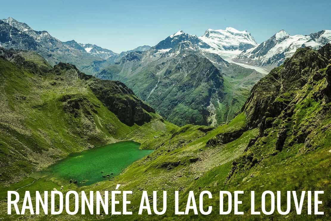 Randonnée à la cabane de Louvie en Suisse