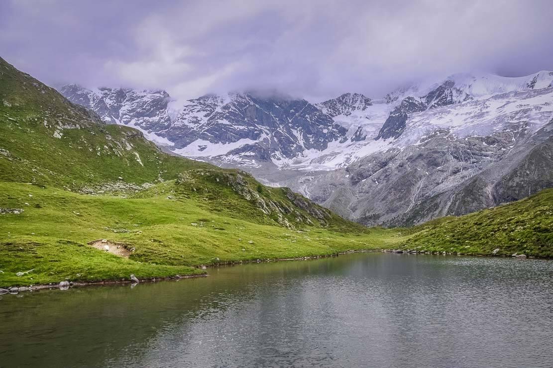Lac d'Arpitettaz en Suisse