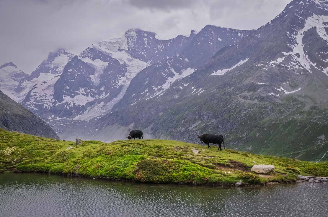 Lake Arpitettaz in Switzerland