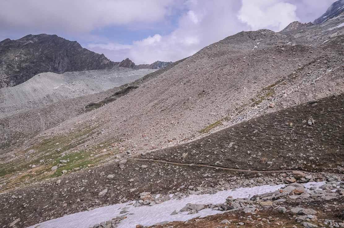 Hiking to the Arpitettaz Hut in Switzerland