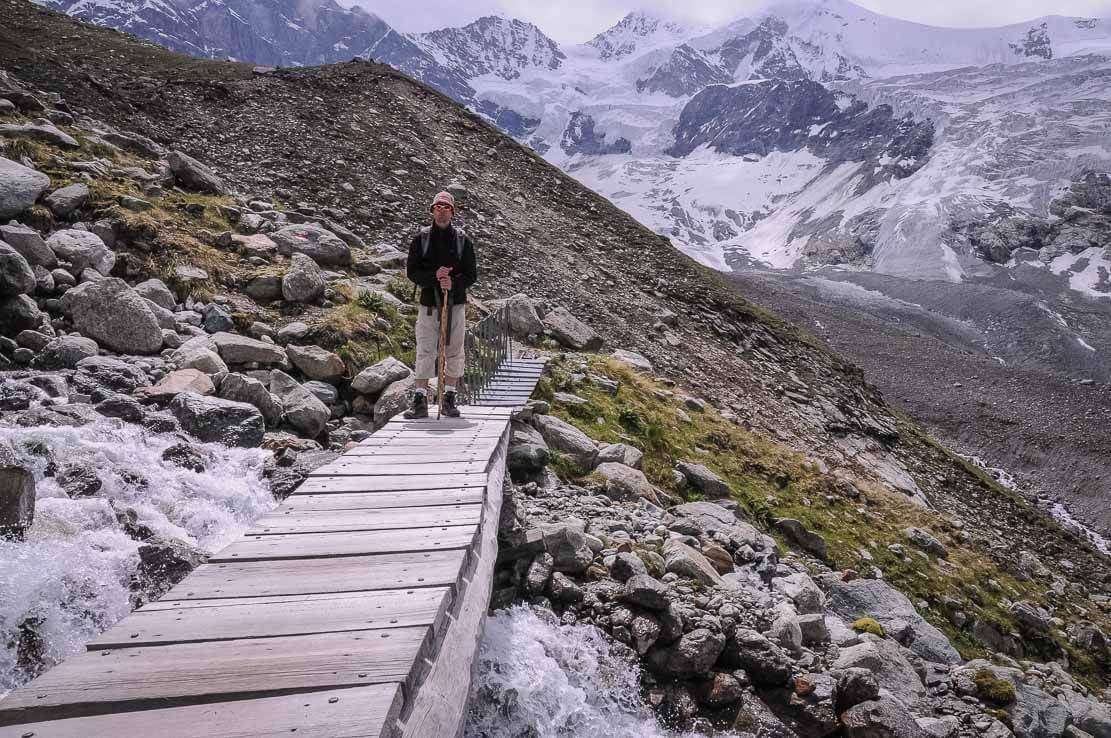 Exploration des alentoursRandonnée en Suisse à la cabane d'Arpitettaz