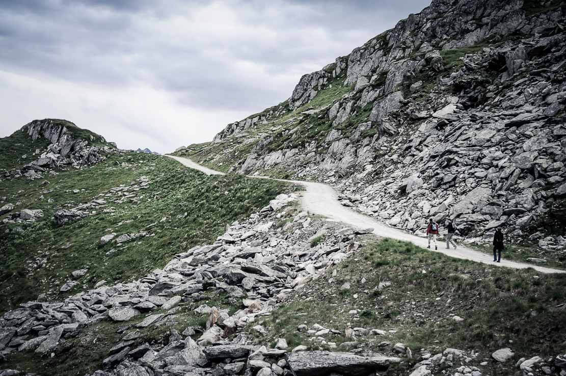 Hike in Switzerland to the Aletsch Glacier