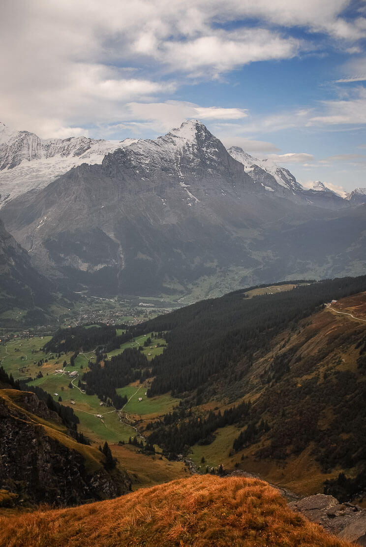 Hike in Switzerland in Grindelwald