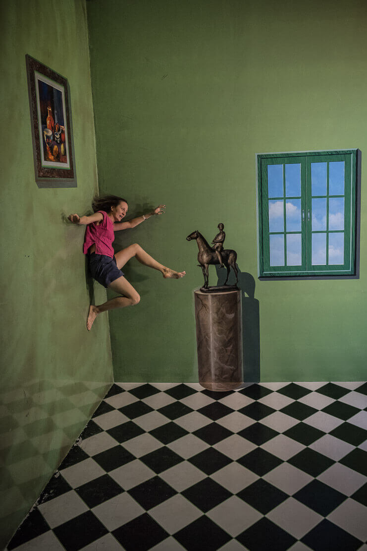 Art in Paradise 3D gallery in Chiang Mai, Thailand
