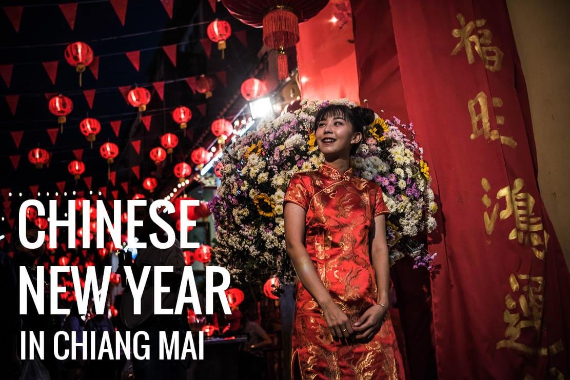 Chinese New Year celebration in Chiang Mai