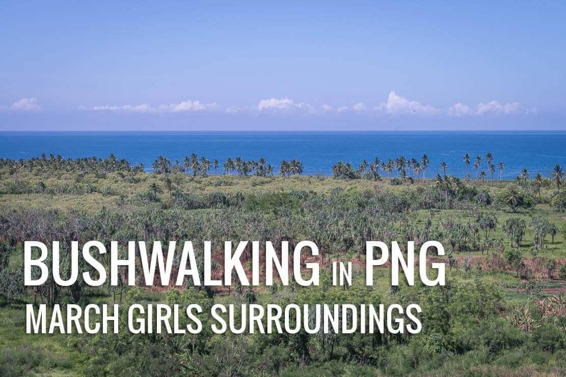 Bushwalking near March Girls Resort