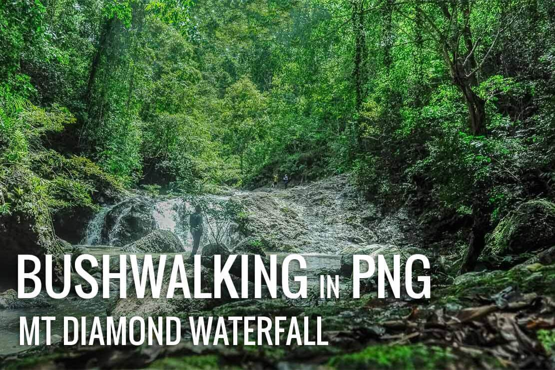 Bushwalking to Mt Diamond waterfall