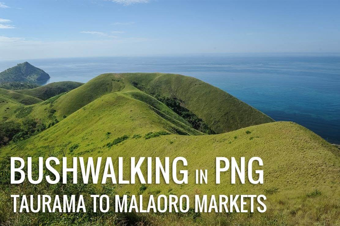 Bushwalking from Taurama Barracks to Malaoro market