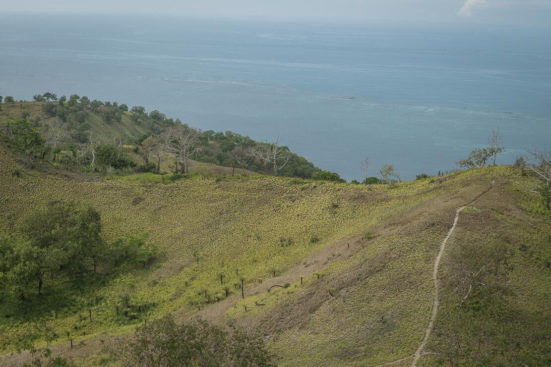 Bushwalking from Taurama Barracks to Sero Beach and Pyramid Point