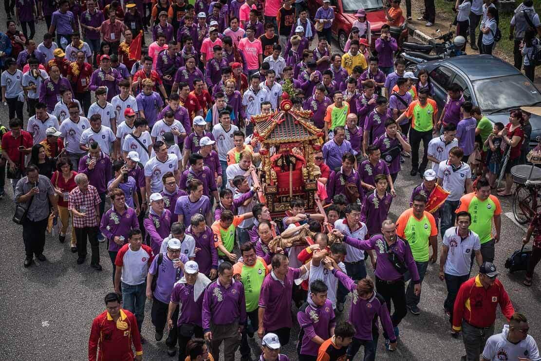 Chingay Prelude Parade Johor Bahru, Malaysia