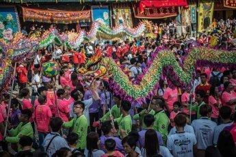 Chingay Parade in Johor Bahru Malaysia