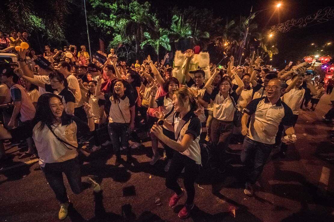 Chingay Parade in Johor Bahru