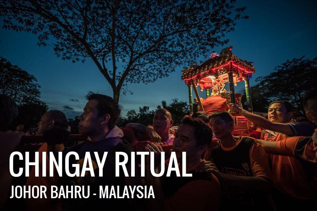Chingay Ritual in Johor Bahru, Malaysia