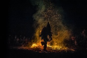 Papua New Guinea Baining Fire Dances in East New Britain