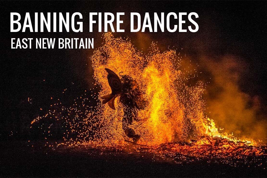 Papua New Guinea Baining Fire Dances