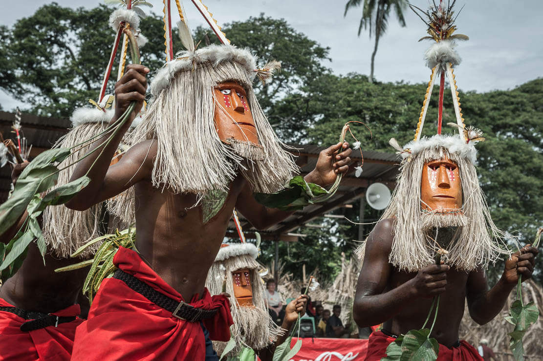 Papua New Guinea National Mask Festival in Kokopo and Rabaul East New Britain