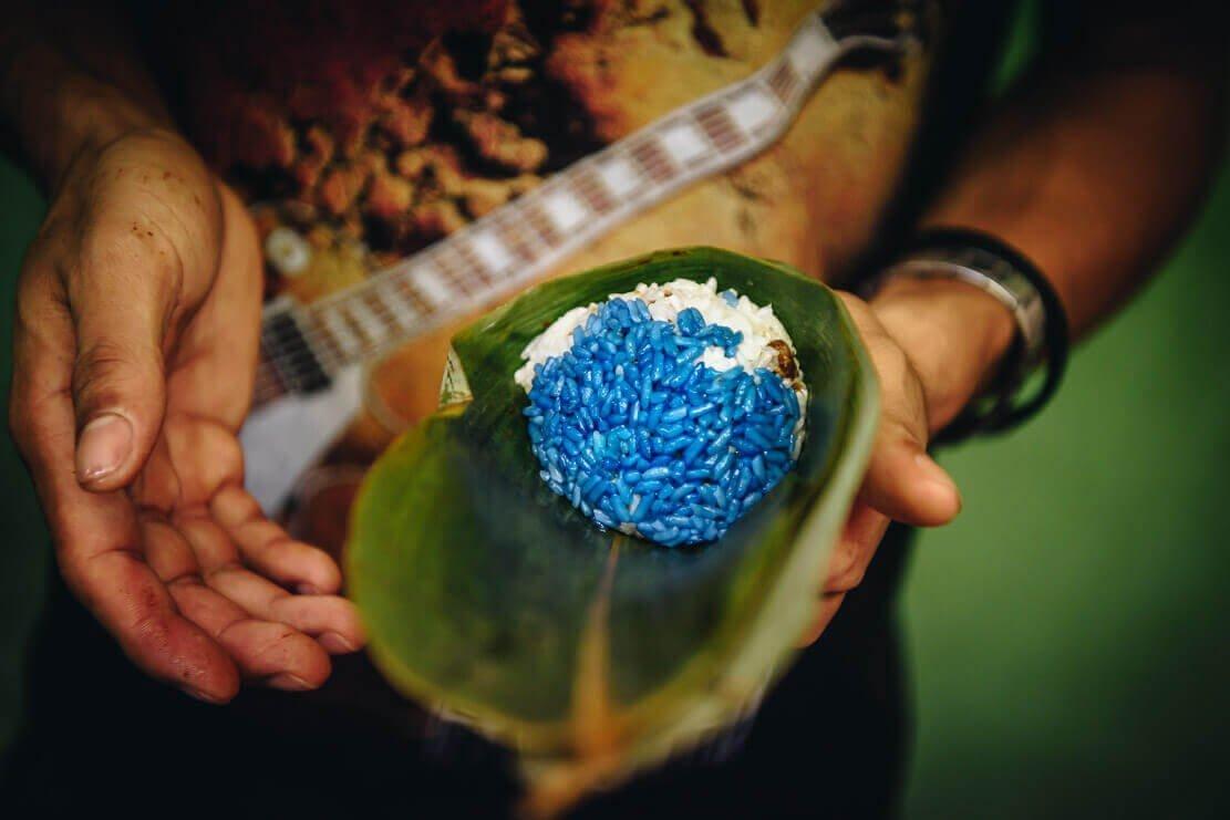 Traditional Baba Nyonya food in Melaka Malaysia