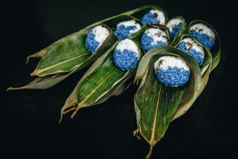 Nyonya Chang traditional blue dumplings