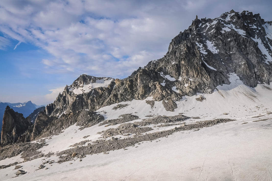 Hike in Switzerland to the Orny Hut in the canton of Wallis