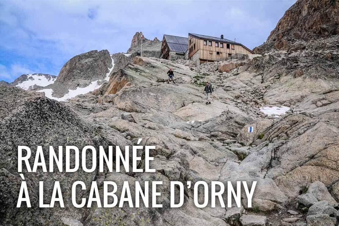 Randonnée en Suisse à la Cabane d'Orny