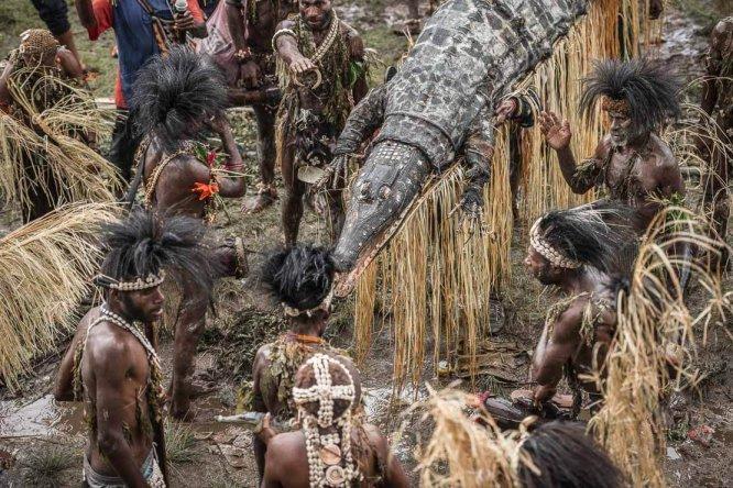 Papua New Guinea festivals: Sepik tribes at Enga Cultural Show