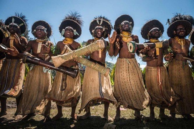 Papua New Guinea festivals: Suli Muli sing sing at Enga Cultural Show