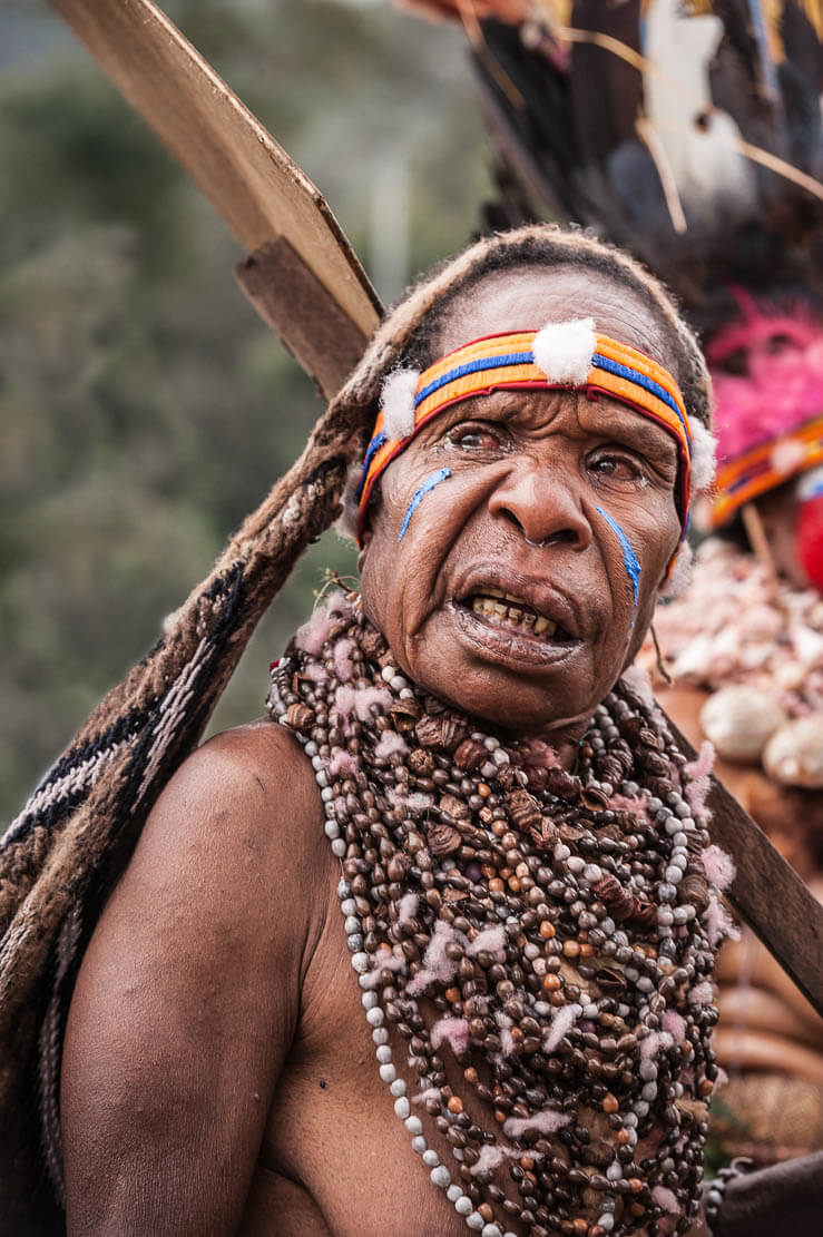 Papua New Guinea festivals: Western Highlands and Jiwaka sing sing groups at Enga Cultural Show