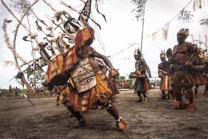 Gulf Mask Festival in Papua New Guinea