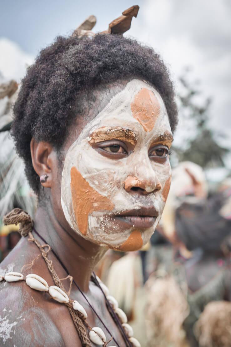 Papua New Guinea festivals: Sepik River Crocodile Festival in Ambunti in East Sepik province