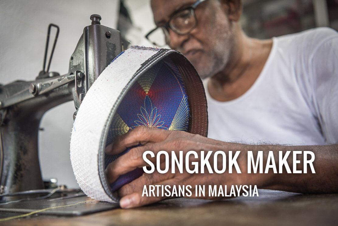 Famous songkok maker in Penang