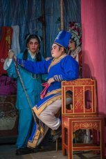 Performers of Chinese Opera in Penang