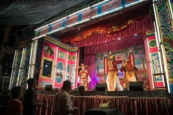 Chinese Opera performance in Georgetown
