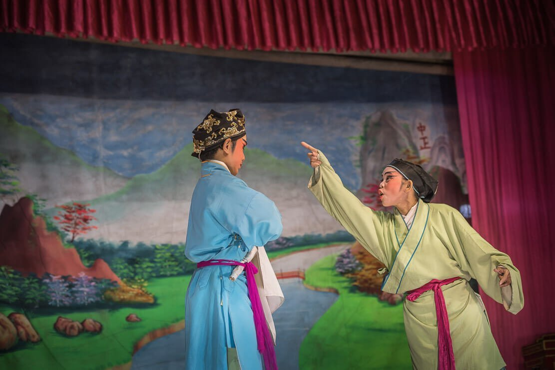 Performance of Chinese Opera in Penang