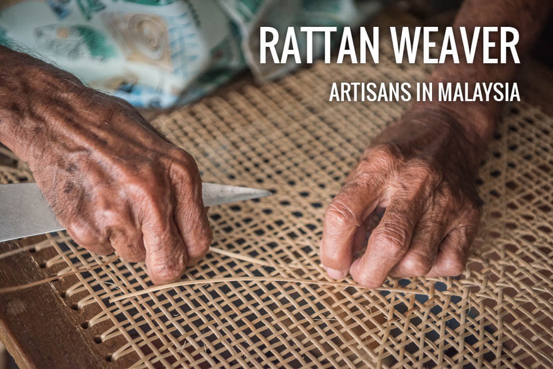 Mr. Lee Soo Kee, rattan artisan in Penang