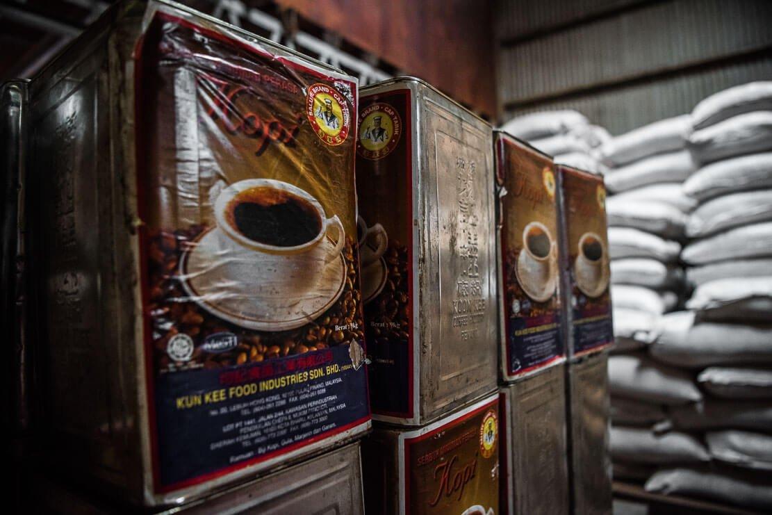 Malaysian coffee brand Salute Kopi O