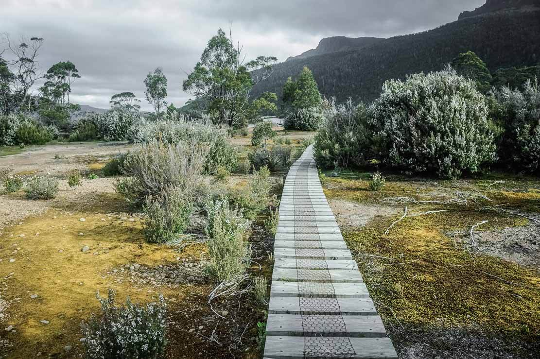 Day 7 of Overland Track in Tasmania, Australia