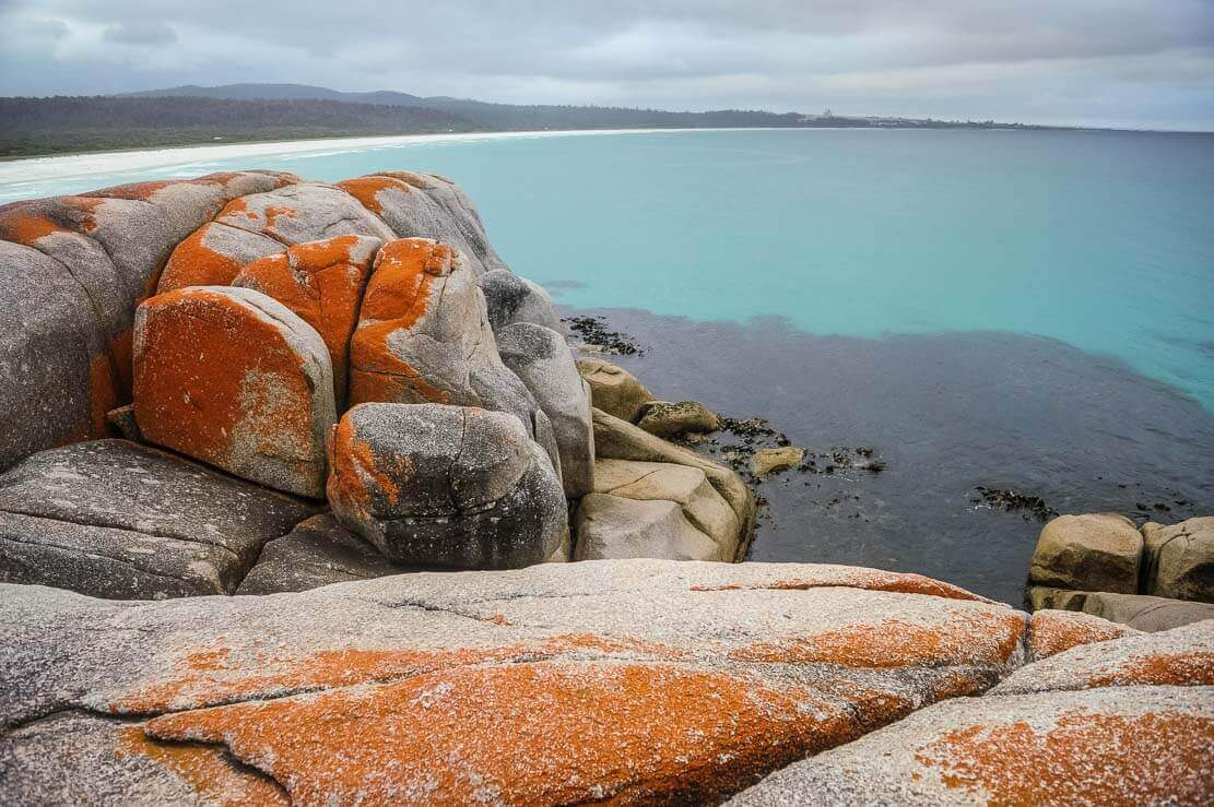 Walks in Bay of Fires in Tasmania